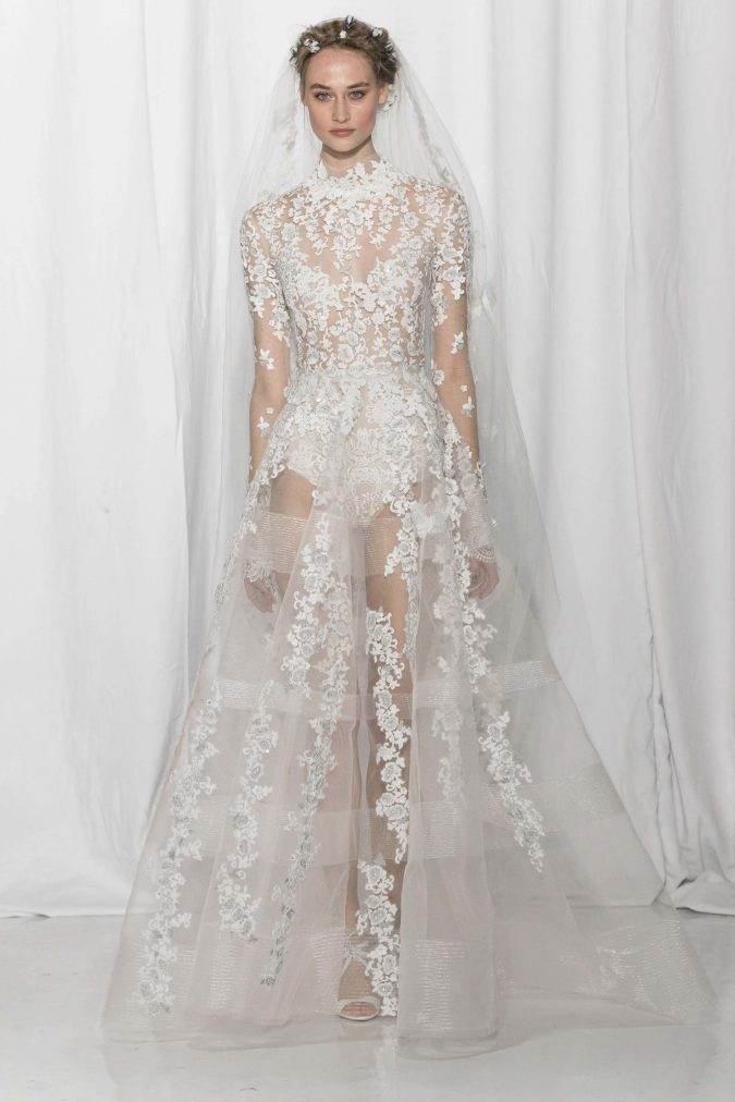 reem-acra-spring-2017-675x1012 +25 Wedding dresses Design Ideas for a Gorgeous-looking Bride in 2020