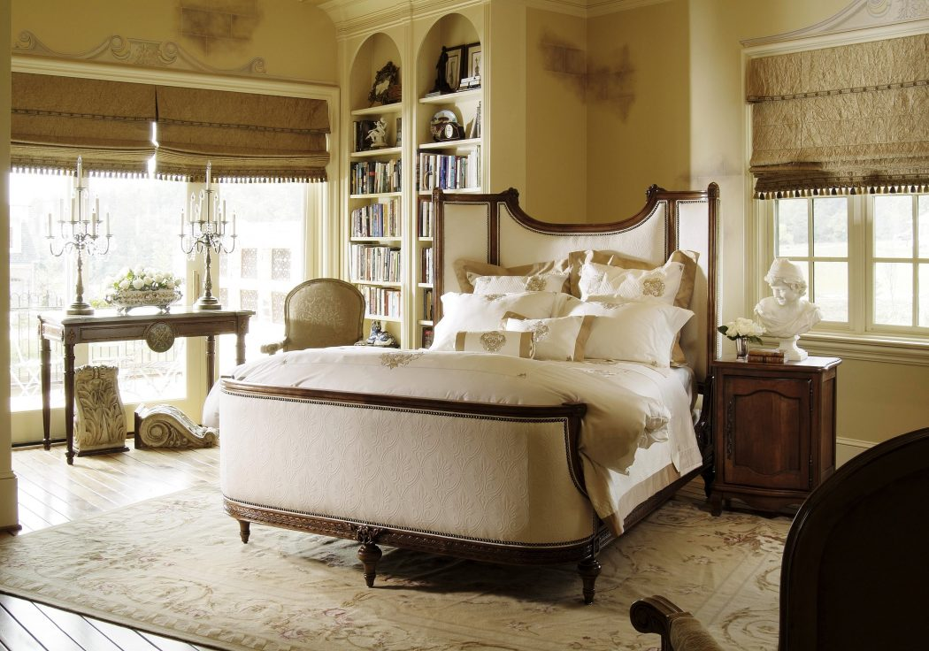 remarkable-white-stained-mahogany-bookshelf-with-wall-large-cabinet-and-shelves-also-bedroom-unit-desk-upper-shelv_bedroom-wall-shelves_bedroom_rustic-bedroom-furniture-boys-ideas-decorating-bedrooms- 5 Main Bedroom Design Ideas For 2020
