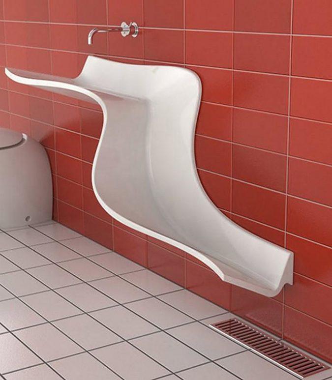 slide-bathroom-sink2-675x773 Top 10 Modern Bathroom Sink Design Ideas
