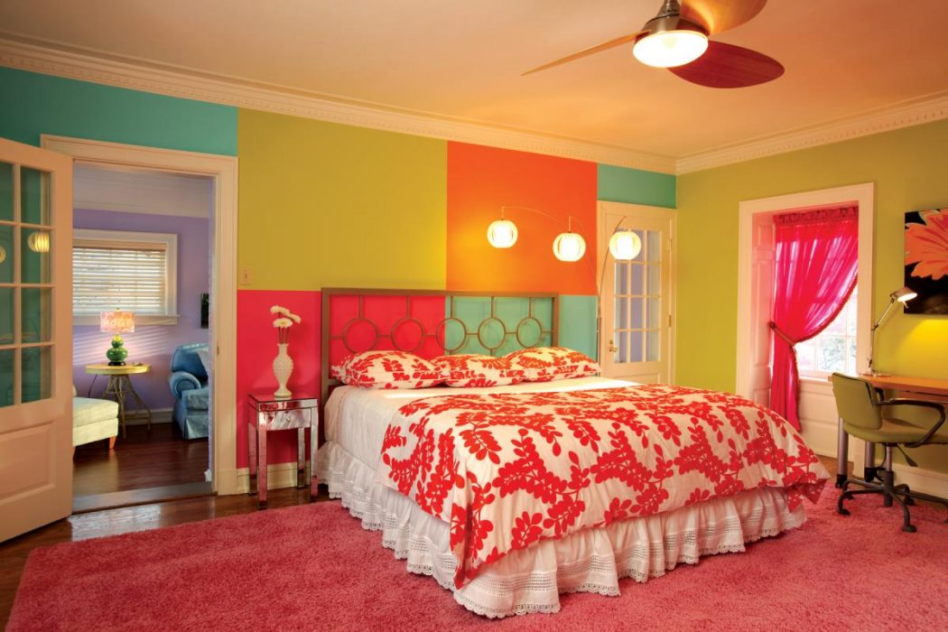 stlouishomesmag 25+ Elegant Orange Bedroom Decor Ideas