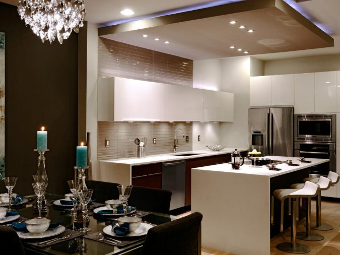 suspended-ceiling-kitchen3-675x506 6 Suspended Ceiling Decors Design Ideas For 2020
