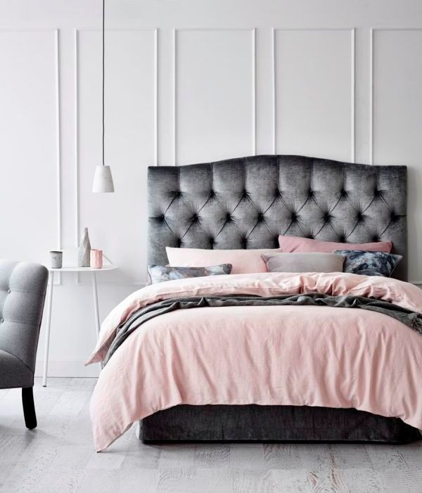 upholstered-bedheads-2 15 Newest Home Decoration Trends You Have to Know for 2018