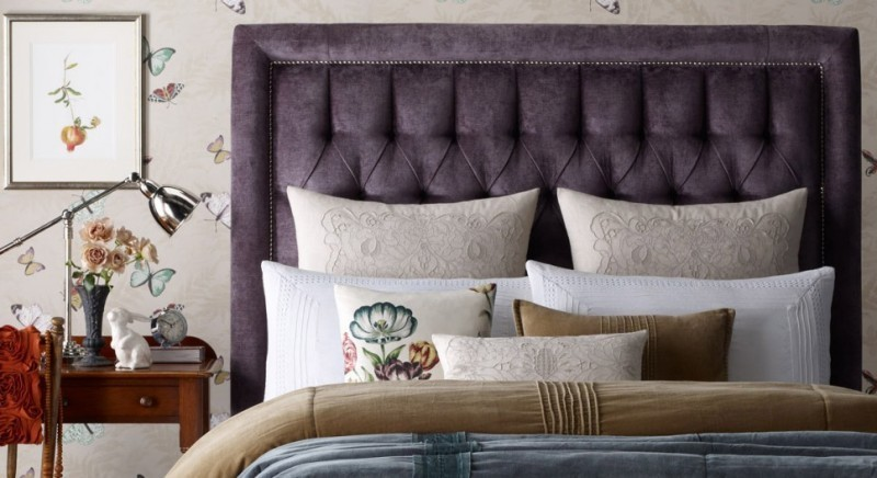 upholstered-bedheads-7 15 Newest Home Decoration Trends You Have to Know for 2017