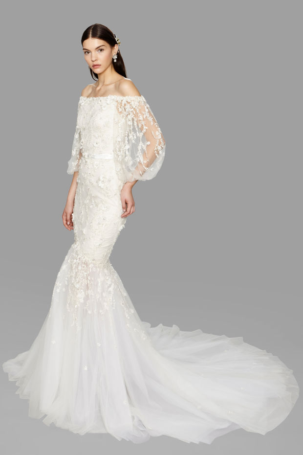 wedding-dress-Marchesa +25 Wedding dresses Design Ideas for a Gorgeous-looking Bride in 2020