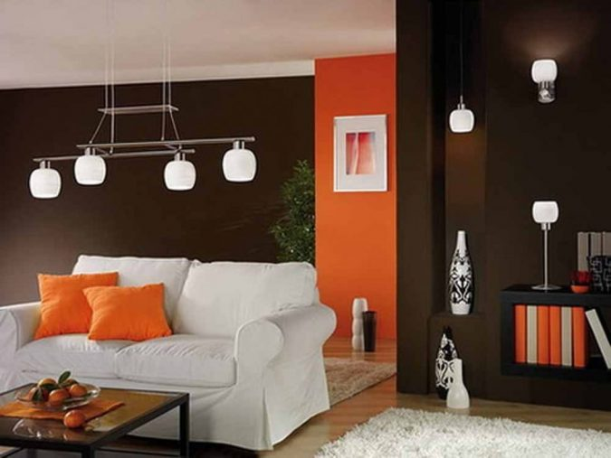 white-ceiling-and-dark-walls-675x507 6 Designs of Suspended Ceiling Decors for 2017