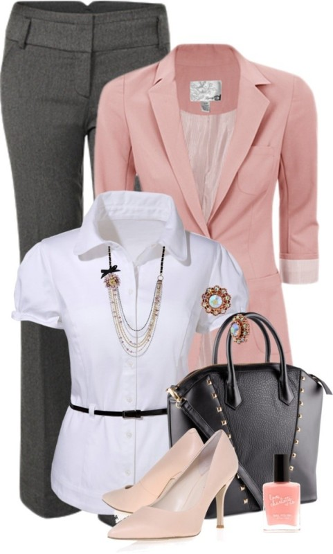 work-outfit-ideas-2017-10 80 Elegant Work Outfit Ideas in 2021/2022