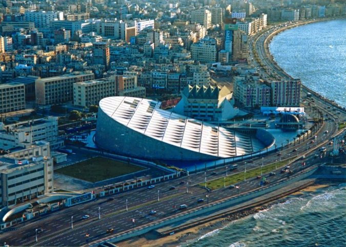 Bibliotheca-Alexandrina-Egypt-675x483 15 Most Creative Building Designs in The World in 2019