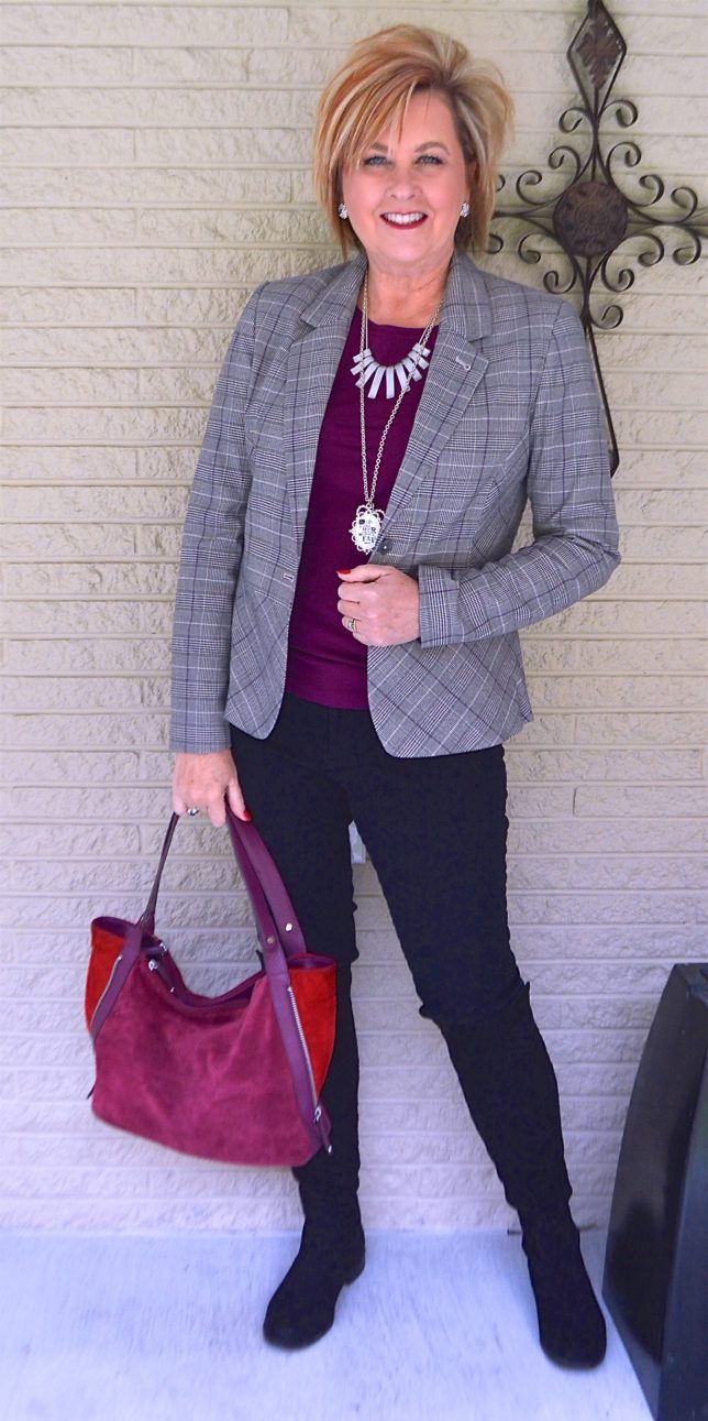Blazer3 6 Fabulous Outfits for Women Over 40