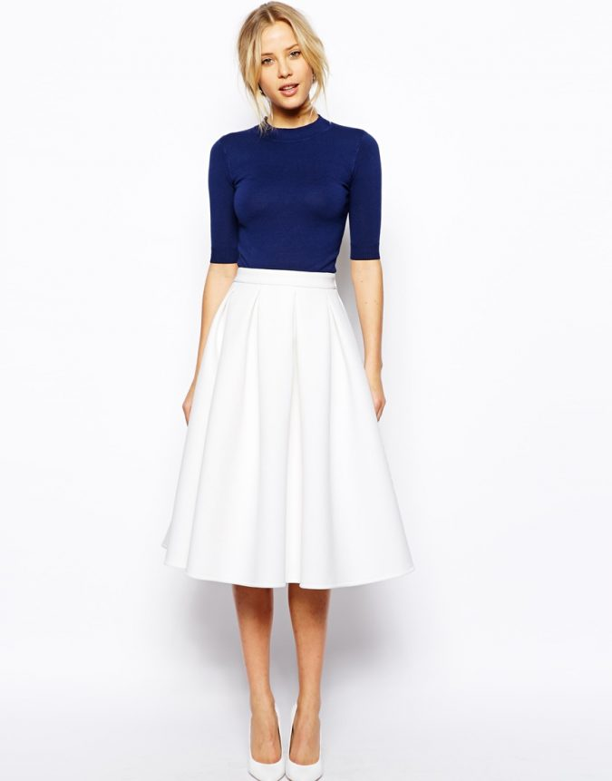 Bonded-skirt3-675x861 18 Work Outfits Every Working Woman Should Have