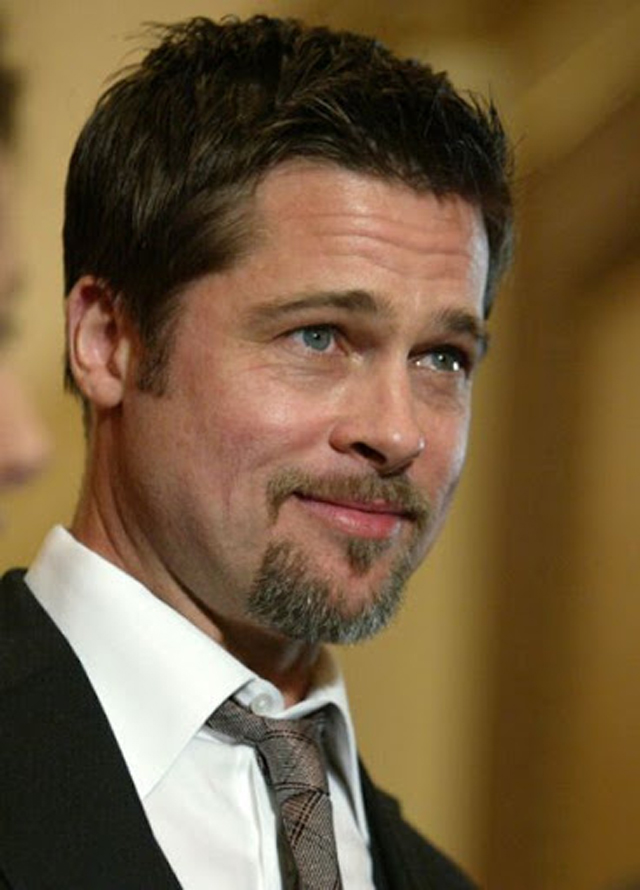 Brad-Pitt-Small-goatees-with-thin-facial-hair-style 7 Trendy Beard Styles for Men in 2018