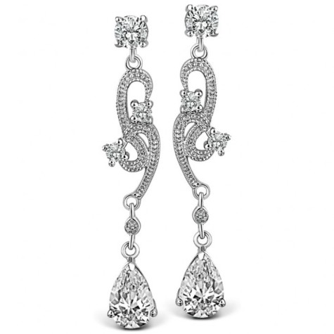 CZ-Diamond-Long-Dropper-Earrings-721x721-475x475 How To Hide Skin Problems And Wrinkles Using Jewelry?