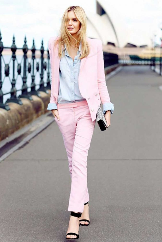 Colorful-Suit-675x1005 18 Work Outfits Every Working Woman Should Have