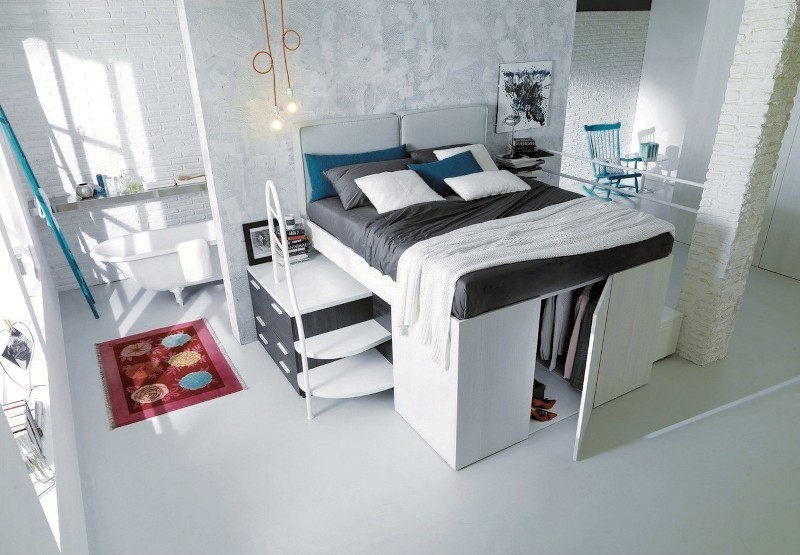 Container-bed 83 Creative & Smart Space-Saving Furniture Design Ideas in 2018