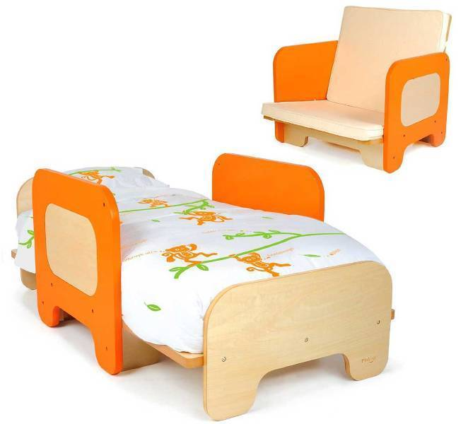 Convertible-Toddler-Bed 83 Creative & Smart Space-Saving Furniture Design Ideas in 2018