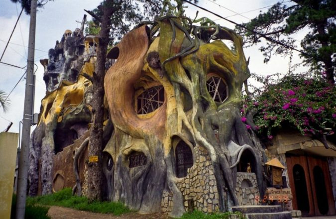 Crazy-House-Vietnam-675x440 15 Most Creative Building Designs in The World in 2019