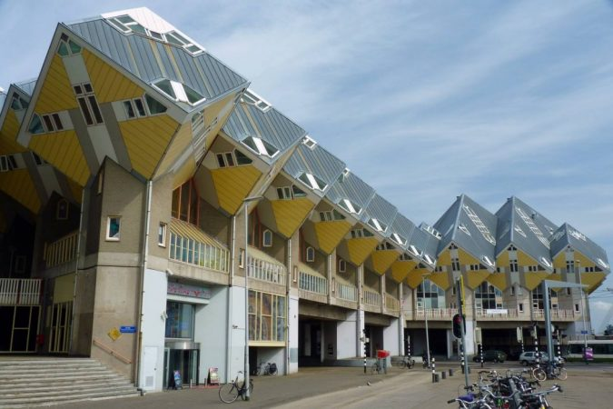 Cubic-Houses-Netherlands3-675x450 15 Most Creative Building Designs in The World in 2018