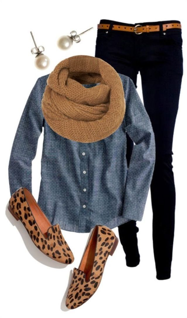 Denim-shirt-1 6 Fabulous Outfits for Women Over 40