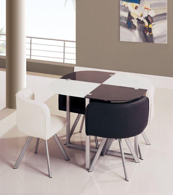 Dining-Set 83 Creative & Smart Space-Saving Furniture Design Ideas in 2018