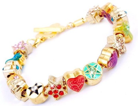 Fashion-Jewelry-String-Bracelets-Women-Colorful-Accessories-Metal-Beads-Wrist-Bracelet-Wholesale-W26129-Free-Shipping-475x364 How To Hide Skin Problems And Wrinkles Using Jewelry?