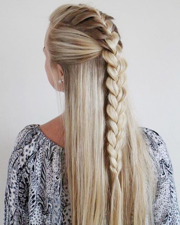 French-and-Dutch-braids-10 28 Hottest Spring & Summer Hairstyles for Women 2020