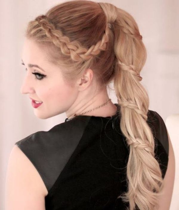 French-and-Dutch-braids-12 28 Hottest Spring & Summer Hairstyles for Women 2020