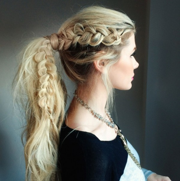 French-and-Dutch-braids-14 28 Hottest Spring & Summer Hairstyles for Women 2020
