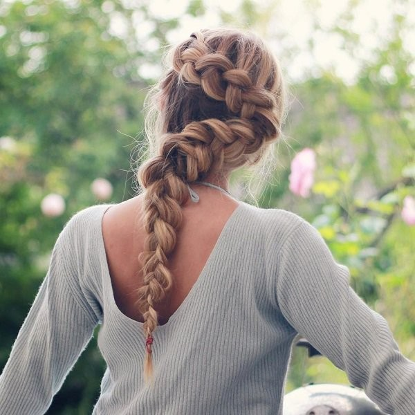 French-and-Dutch-braids-17 28 Hottest Spring & Summer Hairstyles for Women 2018