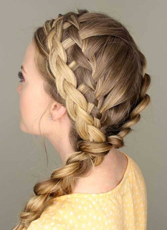 French-and-Dutch-braids-5 28 Hottest Spring & Summer Hairstyles for Women 2020