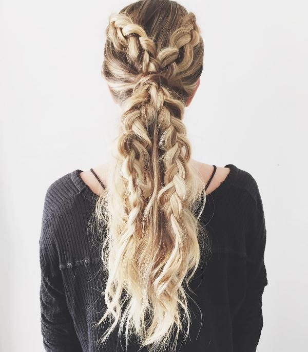 French-and-Dutch-braids-8 28 Hottest Spring & Summer Hairstyles for Women 2020