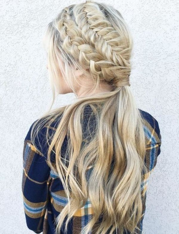 French-and-Dutch-braids-9 28 Hottest Spring & Summer Hairstyles for Women 2020