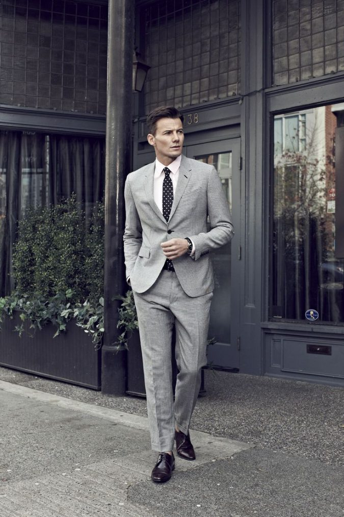 Gray-linen-Suit-675x1013 14 Splendid Wedding Outfits for Guys in 2017
