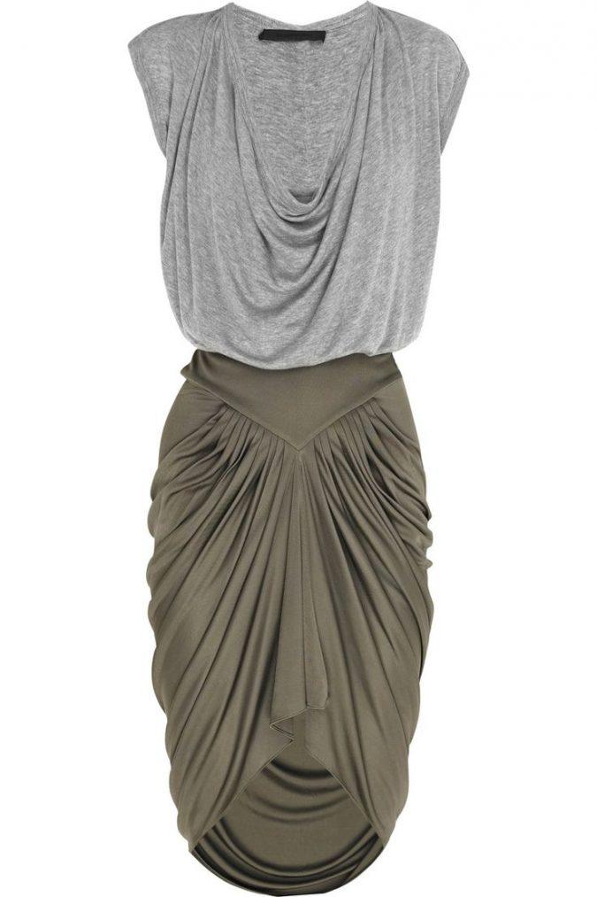 Jersey-Dress-675x1013 +40 Elegant Teenage Girls Summer Outfits Ideas in 2021