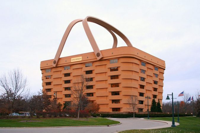 Longaberger-Headquarters-The-United-States-675x449 15 Most Creative Building Designs in The World in 2019