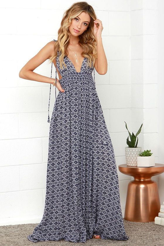 Maxi-Dress2 +40 Elegant Teenage Girls Summer Outfits Ideas in 2020