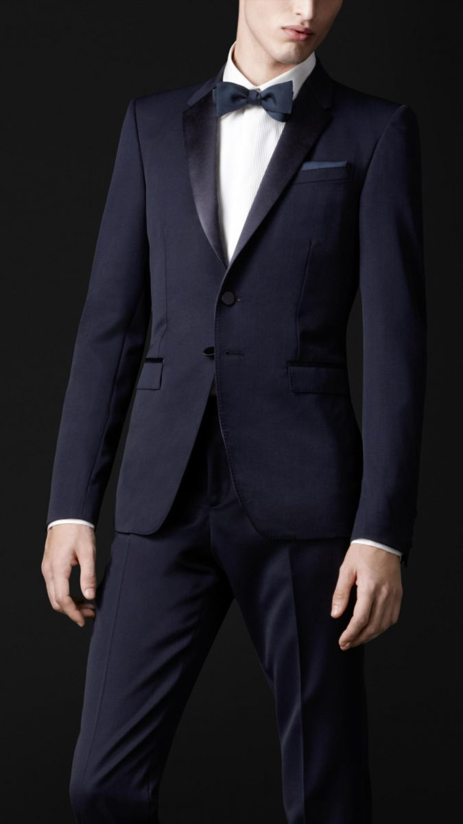 Navy-Satin-Suit-675x1200 14 Splendid Wedding Outfits for Guys in 2017