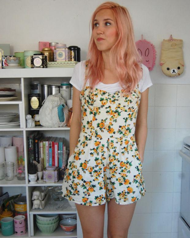 Printed-Romper +40 Elegant Teenage Girls Summer Outfits Ideas in 2021