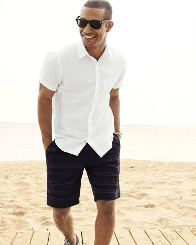 Shirt-with-Bermuda-675x844 10 Most Stylish Outfits for Guys in Summer 2020