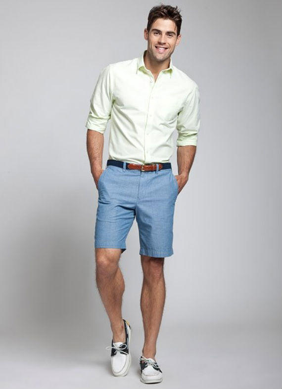 Shirt-with-Bermuda2-1 10 Most Stylish Outfits for Guys in Summer 2018