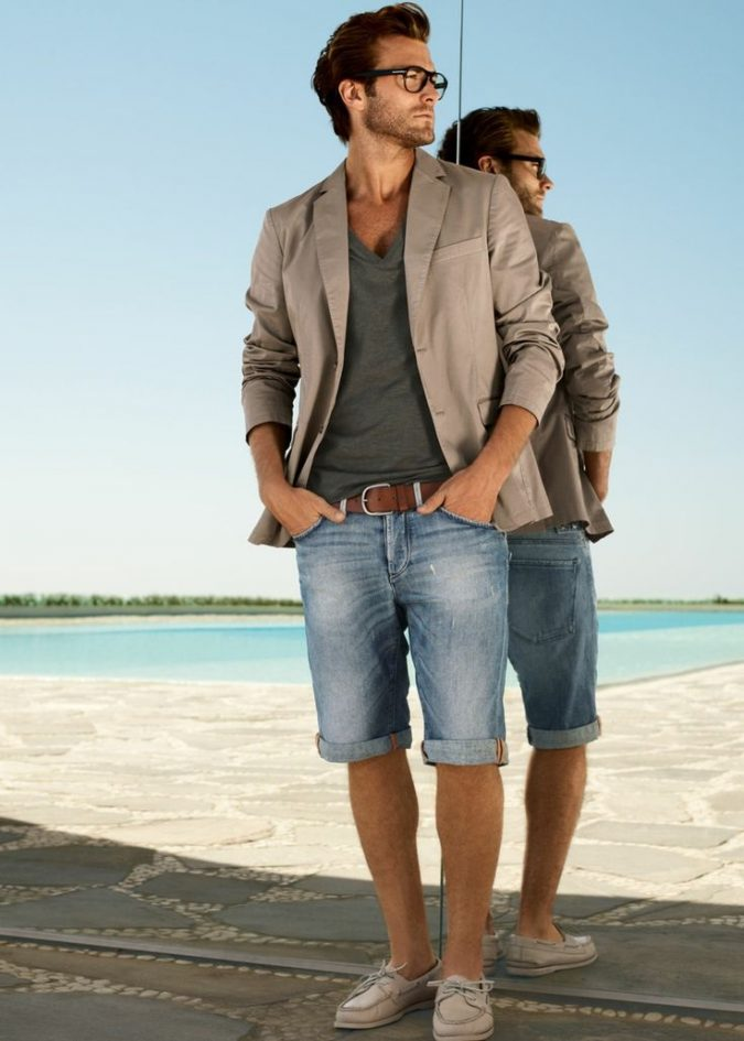 Shirt-with-Bermuda3-675x945 10 Most Stylish Outfits for Guys in Summer 2020