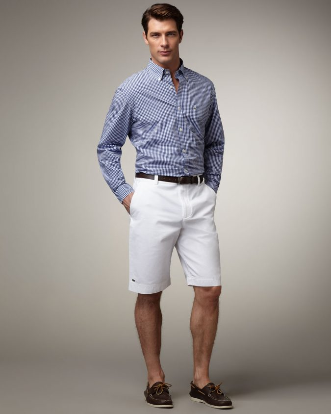 Shirt-with-Bermuda4-675x844 10 Most Stylish Outfits for Guys in Summer 2020