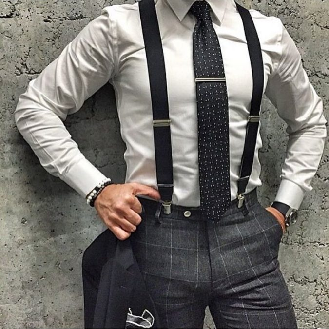 Shirt-with-Suspenders-675x675 14 Splendid Wedding Outfits for Guys in 2017