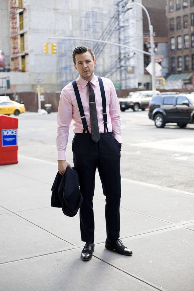 Shirt-with-Suspenders2-675x1013 14 Splendid Wedding Outfits for Guys in 2020