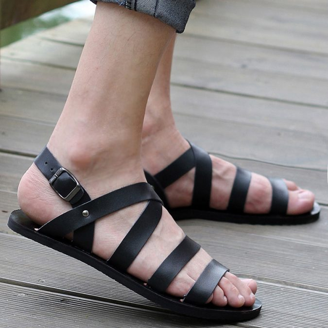 Shoe-Sandal6-675x675 Elegant Fashion Trends of Men Summer Shoes 2018