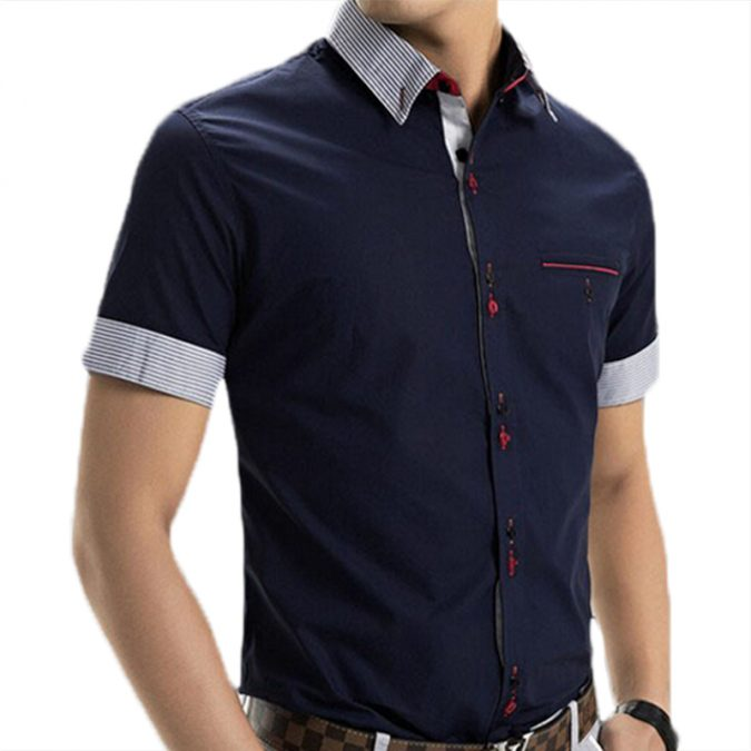 Short-sleeve-shirt-675x675 10 Most Stylish Outfits for Guys in Summer 2018