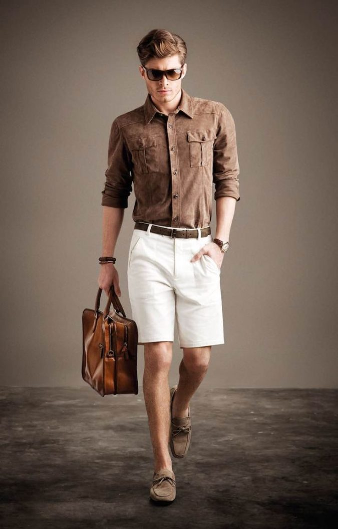 Shorts-with-casual-shoes2-675x1055 10 Most Stylish Outfits for Guys in Summer 2018