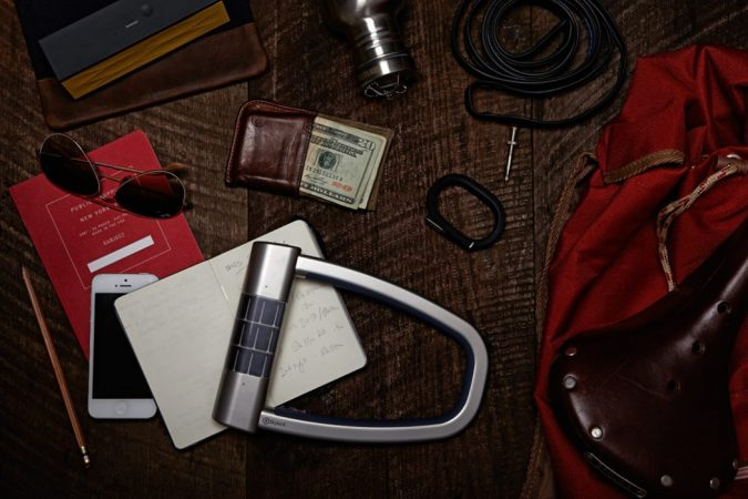 Solar-Bike-Lock2-675x450 12 Extraordinary Solar-Powered Products