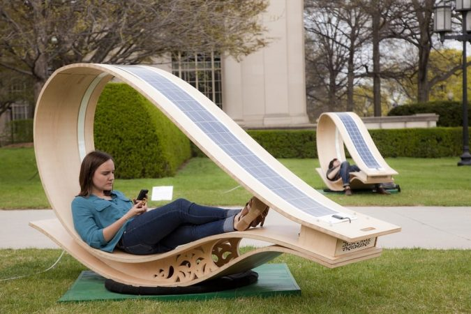 Solar-Furniture-675x450 12 Unusual Solar-Powered Products in 2017