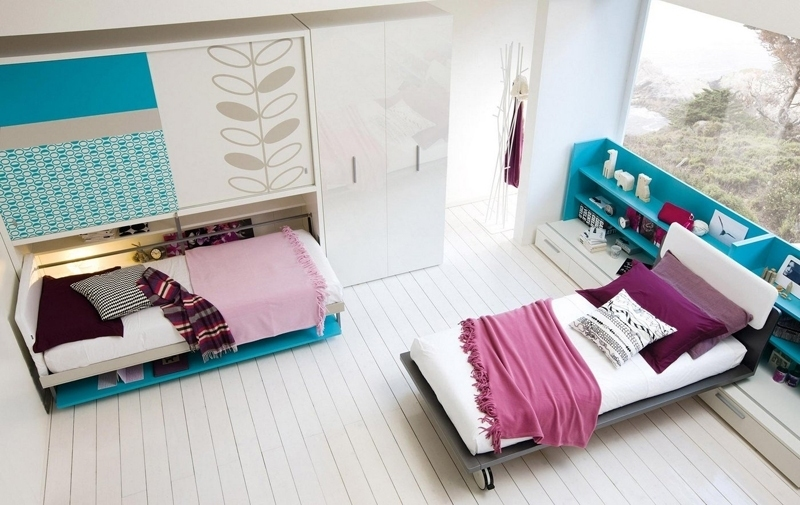 Space-Saving-beds 83 Creative & Smart Space-Saving Furniture Design Ideas in 2018