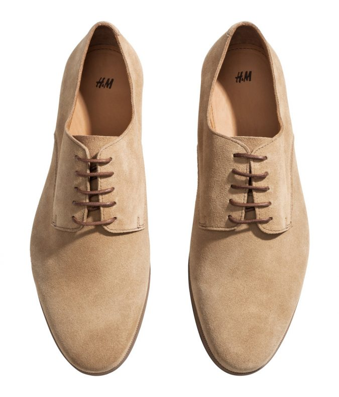 Suede-Derbies-shoes-675x790 Elegant Fashion Trends of Men Summer Shoes 2017