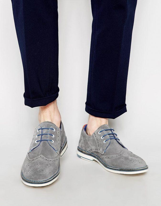 Suede-Derbies-shoes3-675x861 Elegant Fashion Trends of Men Summer Shoes 2017